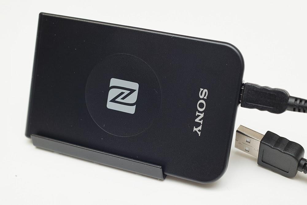Đầu đọc/ghi thẻ NFC RC-S380/S (Sony) - Máy in thẻ nhựa, máy dập nổi, đầu đọc thẻ nhựa