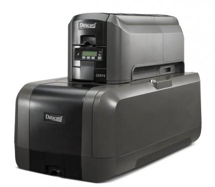 MÁY IN - CÁ THỂ HOÁ THẺ ENTRUST® CE870 - Máy in thẻ nhựa, máy dập nổi, đầu đọc thẻ nhựa