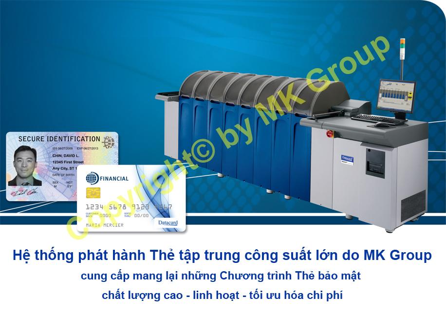 HỆ THỐNG DATACARD® MX2100 - Máy in thẻ nhựa, máy dập nổi, đầu đọc thẻ nhựa