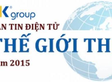 Bản tin Thế giới Thẻ điện tử MK Group số 40 - Tháng 9/2015 - Máy in thẻ nhựa, máy dập nổi, đầu đọc thẻ nhựa