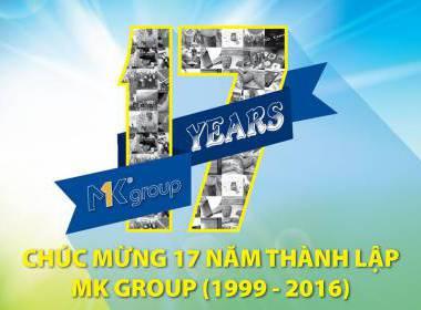 Chúc mừng 17 năm ngày thành lập MK Group - MK