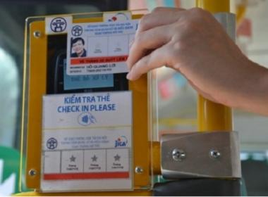 Hà Nội sẽ triển khai vé điện tử cho các tuyến xe buýt nội đô - Máy in thẻ nhựa, máy dập nổi, đầu đọc thẻ nhựa