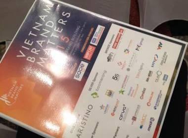 MK Group tham gia và tài trợ cho sự kiện Diễn đàn Thương hiệu Việt Nam 2015 - Máy in thẻ nhựa, máy dập nổi, đầu đọc thẻ nhựa