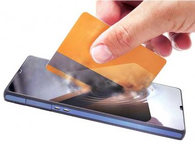 Thế hệ thanh toán mới, không cần ví cũng không cần thẻ ATM - Máy in thẻ nhựa, máy dập nổi, đầu đọc thẻ nhựa