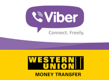 Western Union thêm chuyển tiền di động trên Viber - Máy in thẻ nhựa, máy dập nổi, đầu đọc thẻ nhựa