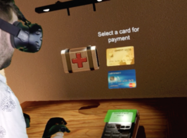 Worldpay thử nghiệm trình thanh toán thực tế ảo (VR) - Máy in thẻ nhựa, máy dập nổi, đầu đọc thẻ nhựa