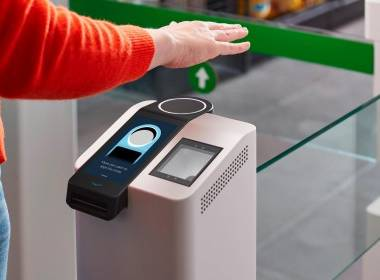 Amazon ra mắt công nghệ thanh toán bằng lòng bàn tay - Máy in thẻ nhựa, máy dập nổi, đầu đọc thẻ nhựa
