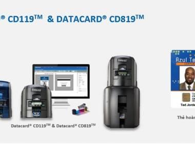 Series máy in thẻ Datacard® CD 119 & Datacard® CD 819 - Giải pháp tăng doanh thu khách hàng  - Máy in thẻ nhựa, máy dập nổi, đầu đọc thẻ nhựa