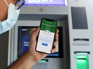 BBVA ra mắt ATM rút tiền không tiếp xúc - Máy in thẻ nhựa, máy dập nổi, đầu đọc thẻ nhựa