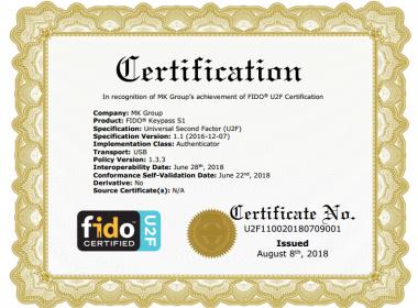 KeyPass U2F Token – sản phẩm Token đầu tiên của Việt Nam đạt chứng chỉ FIDO U2F - MK