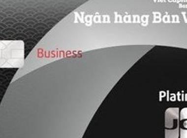 Ngân hàng Bản Việt phát hành thẻ tín dụng JCB cho doanh nghiệp - Máy in thẻ nhựa, máy dập nổi, đầu đọc thẻ nhựa