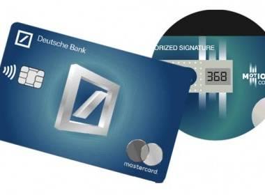 Deutsche Bank phát hành thẻ CVV động ở Tây Ban Nha - MK