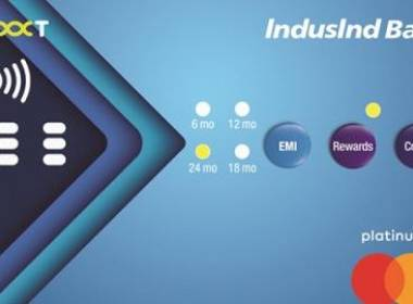 IndusIndbank giới thiệu thẻ tín dụng nút bấm - MK