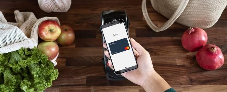 Mastercard triển khai Google Pay trên toàn Châu Âu - Máy in thẻ nhựa, máy dập nổi, đầu đọc thẻ nhựa