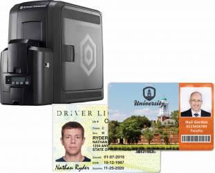 MÁY IN THẺ NHỰA ĐỂ BÀN ENTRUST® CR805 - Máy in thẻ nhựa, máy dập nổi, đầu đọc thẻ nhựa