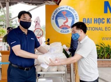 MK Group đồng hành cùng chương trình 'Cây gạo NEU - Giúp người nghèo vượt qua dịch Covid-19' - MK