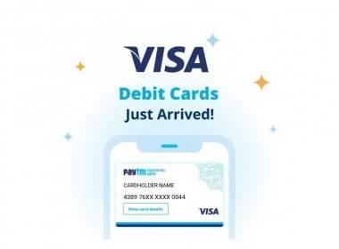 Paytm ra mắt thẻ ghi nợ Visa - Máy in thẻ nhựa, máy dập nổi, đầu đọc thẻ nhựa