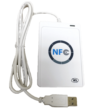 Đầu đọc thẻ Chip không tiếp xúc NFC ACR122U - Máy in thẻ nhựa, máy dập nổi, đầu đọc thẻ nhựa