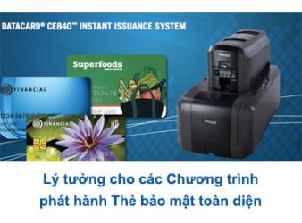 MÁY IN - CÁ THỂ HOÁ THẺ ENTRUST® CE840 - Máy in thẻ nhựa, máy dập nổi, đầu đọc thẻ nhựa