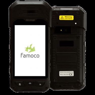 Đầu đọc thẻ không tiếp xúc cầm tay Famoco FX300 - Máy in thẻ nhựa, máy dập nổi, đầu đọc thẻ nhựa