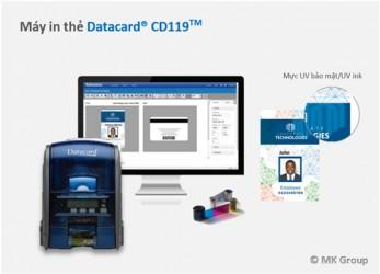 Máy in thẻ ID CD119 - Máy in thẻ nhựa, máy dập nổi, đầu đọc thẻ nhựa