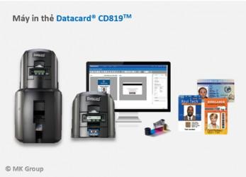 Máy in thẻ ID CD819 - Máy in thẻ nhựa, máy dập nổi, đầu đọc thẻ nhựa