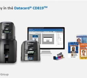 Máy in thẻ ID CD819 - MK