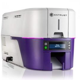Máy in thẻ Entrust Sigma DS1 - Máy in thẻ nhựa, máy dập nổi, đầu đọc thẻ nhựa