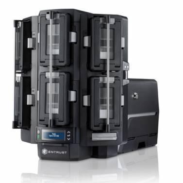 Máy in thẻ tài chính Sigma DS4-ES1 - Máy in thẻ nhựa, máy dập nổi, đầu đọc thẻ nhựa