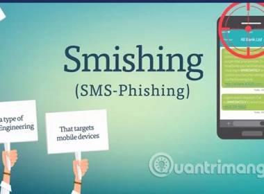 Hiểm họa từ tấn công Smishing Biến tướng của tấn công giả mạo Phishing - Máy in thẻ nhựa, máy dập nổi, đầu đọc thẻ nhựa