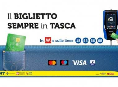 Turin triển khai thanh toán không tiếp xúc trên xe bus và tàu điện ngầm - MK
