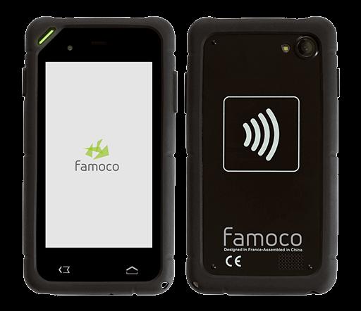 Đầu đọc thẻ không tiếp xúc cầm tay Famoco FX200 - MK