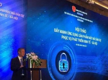 """MK Group tham gia Hội thảo """"Quản lý và phát triển ứng dụng sản phẩm dịch vụ mật mã dân sự trong bảo mật thông tin giao dịch điện tử"""" - MK"""