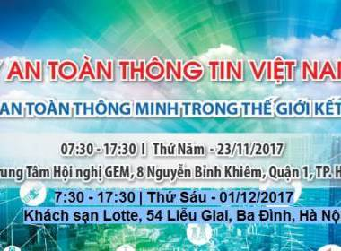 MK GROUP THAM GIA NGÀY AN TOÀN THÔNG TIN VIỆT NAM 2017 - MK
