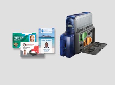 Máy in thẻ để bàn - MK
