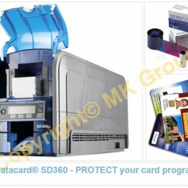 MÁY IN THẺ NHỰA DATACARD® SD360 - MK