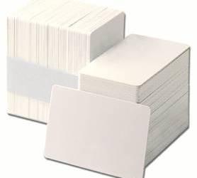 Thẻ nhựa trắng - MK