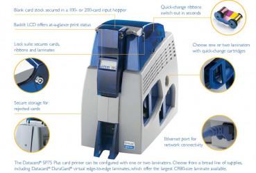 Máy in Thẻ nhựa Datacard® SP75 Plus - MK